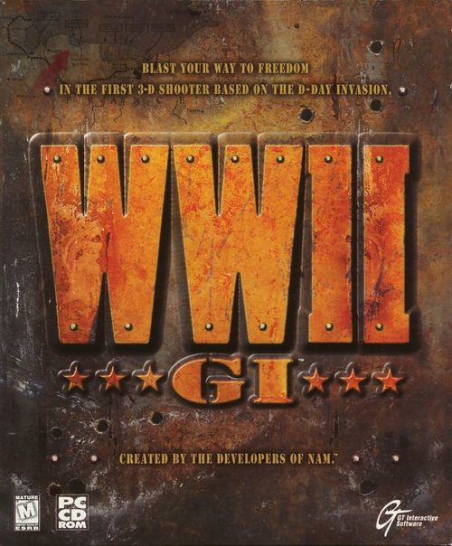 Cover for World War II GI.