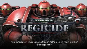 Cover for Warhammer 40,000: Regicide.