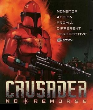 Cover for Crusader: No Remorse.