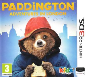 Cover for Paddington: Adventures in London.