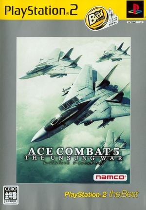 Cover for Ace Combat 5: The Unsung War.