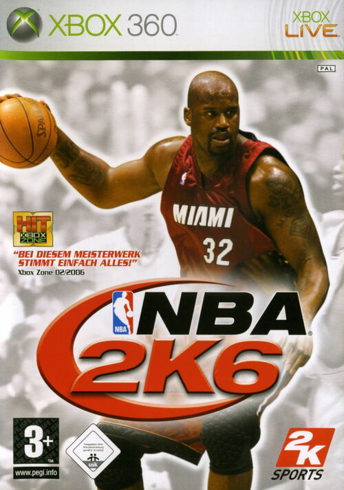 Cover for NBA 2K6.