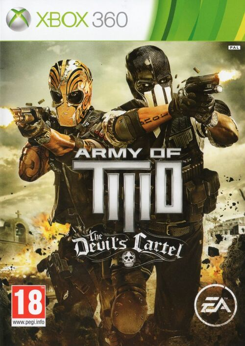 Cover for Army of Two: The Devil's Cartel.
