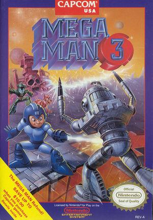 Cover for Mega Man 3.