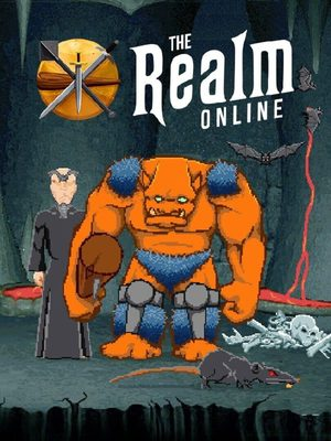 Cover for The Realm Online.
