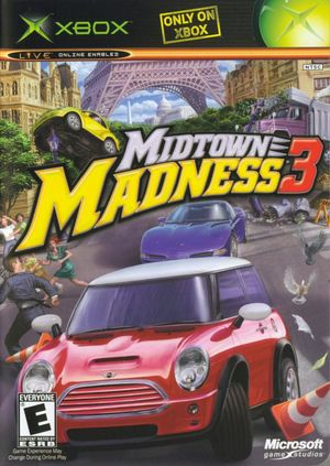 Cover for Midtown Madness 3.