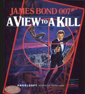 Cover for James Bond 007: A View To A Kill.