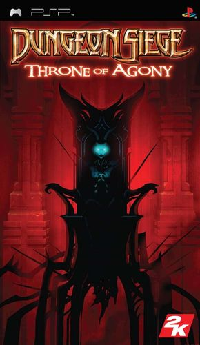 Cover for Dungeon Siege: Throne of Agony.