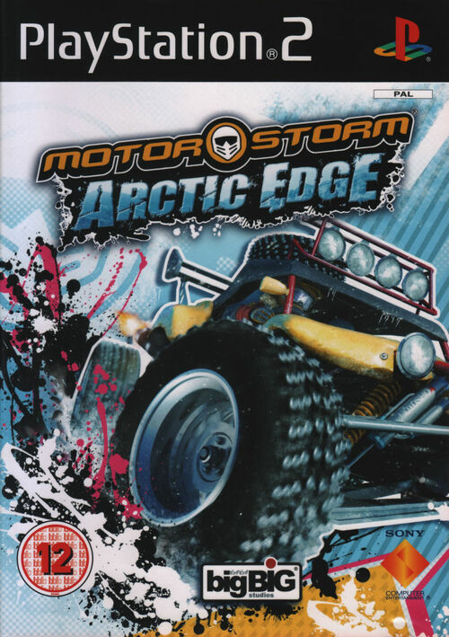 Cover for MotorStorm: Arctic Edge.
