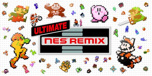 Cover for Ultimate NES Remix.