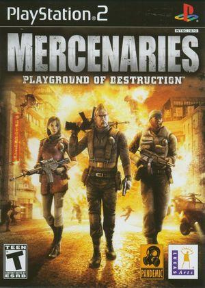 Cover for Mercenaries: Playground of Destruction.