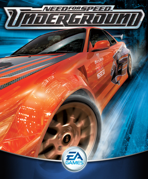 Cover for Need for Speed: Underground.