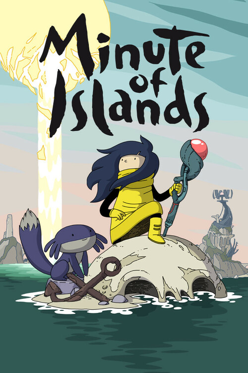 Cover for Minute of Islands.