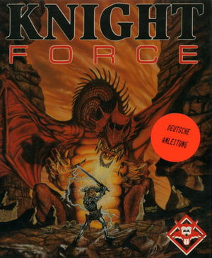 Cover for Knight Force.