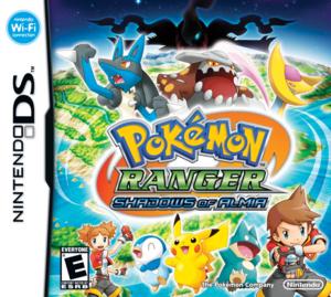 Cover for Pokémon Ranger: Shadows of Almia.