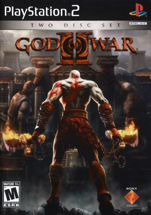 Cover for God of War II.
