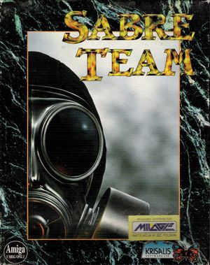 Cover for Sabre Team.