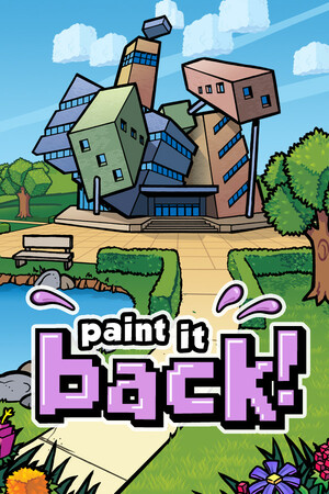 Cover for Paint it Back.