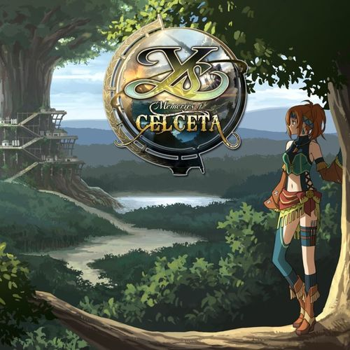 Cover for Ys: Memories of Celceta.