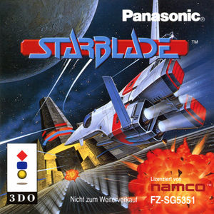 Cover for Starblade.