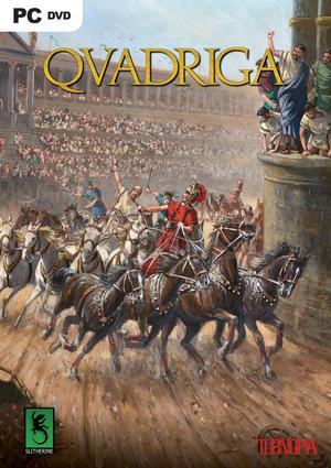 Cover for Qvadriga.