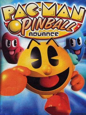 Cover for Pac-Man Pinball Advance.
