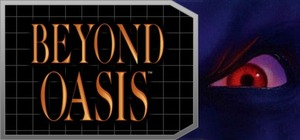 Cover for Beyond Oasis.