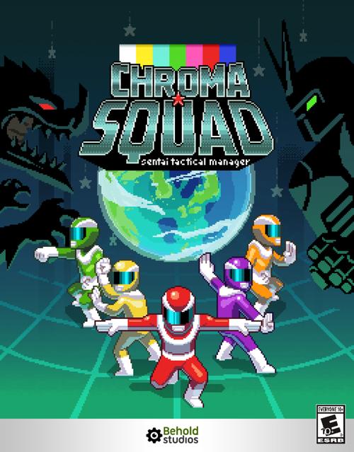 Cover for Chroma Squad.