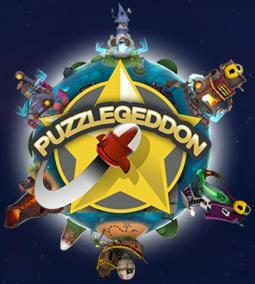 Cover for Puzzlegeddon.
