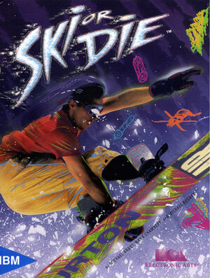 Cover for Ski or Die.
