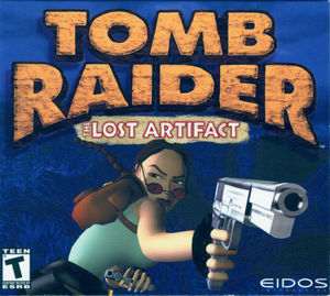 Cover for Tomb Raider: The Lost Artifact.