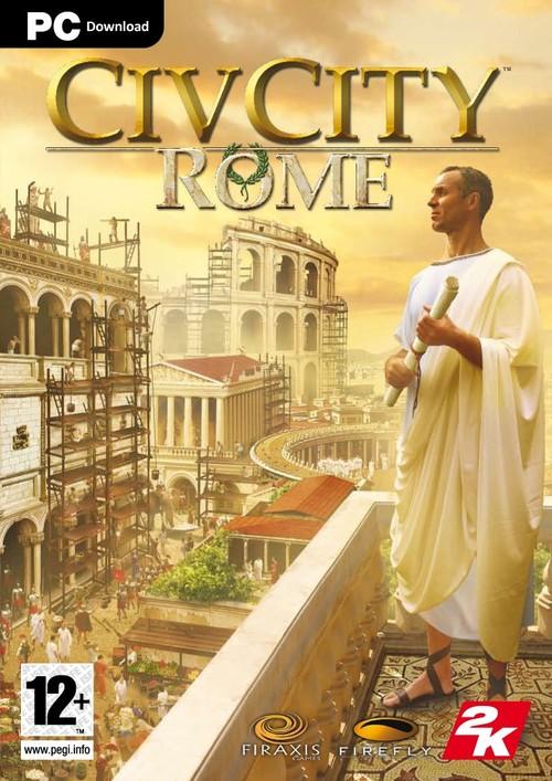 Cover for CivCity: Rome.