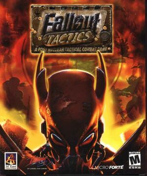 Cover for Fallout Tactics: Brotherhood of Steel.