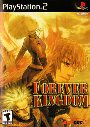 Cover for Forever Kingdom.