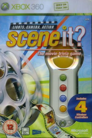 Cover for Scene It? Lights, Camera, Action.