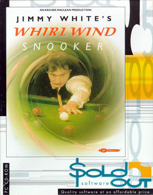 Cover for Jimmy White's 'Whirlwind' Snooker.