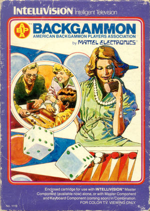 Cover for ABPA Backgammon.