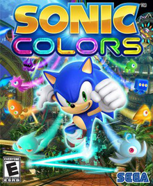 Cover for Sonic Colors.