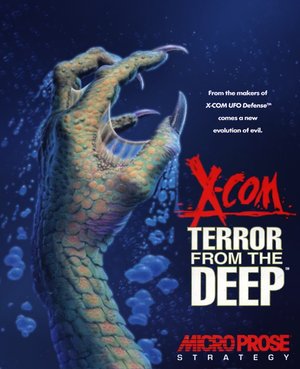 Cover for X-COM: Terror from the Deep.