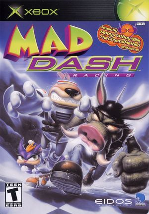 Cover for Mad Dash Racing.