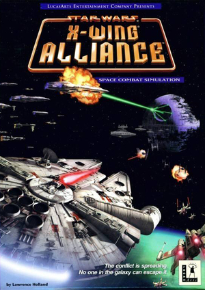 Cover for Star Wars: X-Wing Alliance.