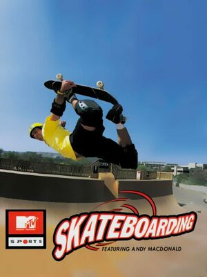 Cover for MTV Sports: Skateboarding Featuring Andy Macdonald.