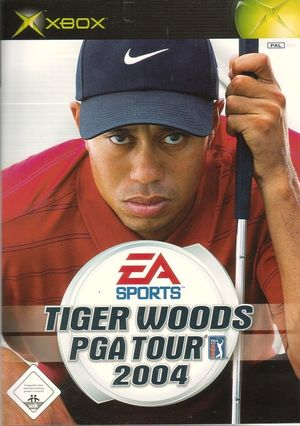 Cover for Tiger Woods PGA Tour 2004.