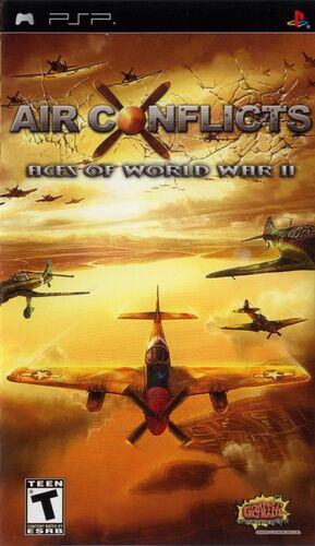 Cover for Air Conflicts: Aces of World War II.