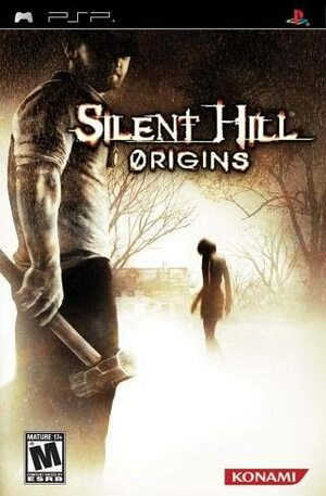Cover for Silent Hill: Origins.