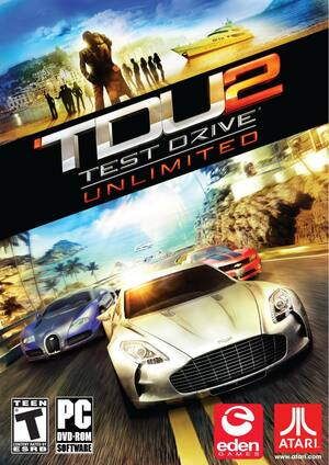Cover for Test Drive Unlimited 2.