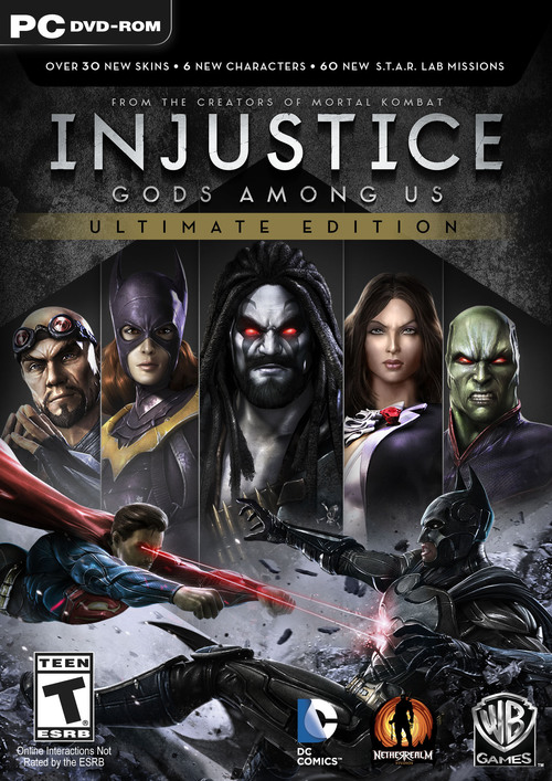Cover for Injustice: Gods Among Us.