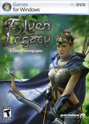 Cover for Elven Legacy.