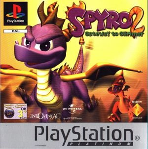 Cover for Spyro 2: Ripto's Rage!.