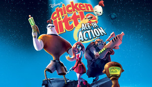 Cover for Disney's Chicken Little: Ace in Action.